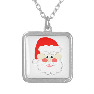 cartoon santa red christmas kids jewelry