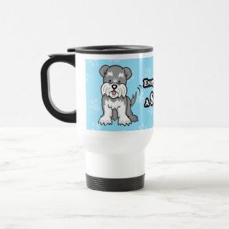 Cartoon Schnauzer Mug