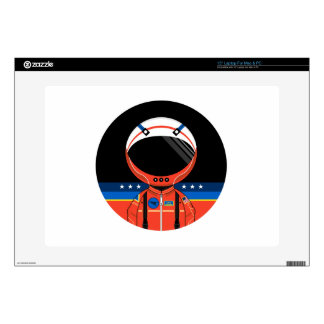 """Cartoon Science Fiction Spaceman Skins For 15"""" Laptops"""