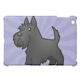 Cartoon Scottish Terrier Case For The iPad Mini