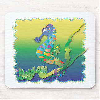Cartoon Sea horse Mouse Pad