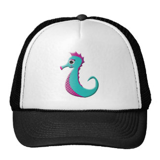 Cartoon Sea-horse Trucker Hat