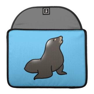 cartoon sea lion sleeve for MacBook pro