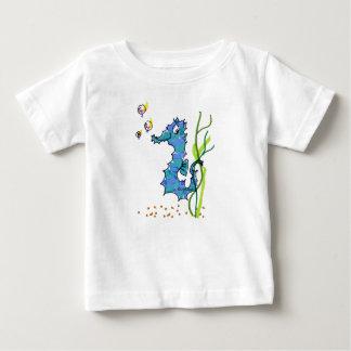 Cartoon Seahorse Cute Baby T-Shirt
