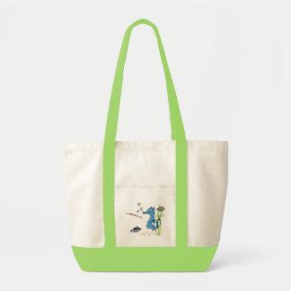 Cartoon Seahorse Cute Fish Tote Bags