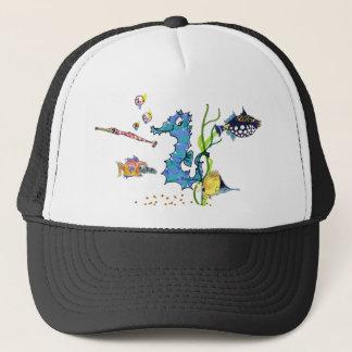 Cartoon Seahorse Cute Fishes Hats