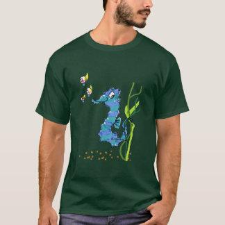 Cartoon Seahorse Cute T-Shirt