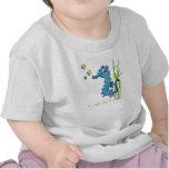 Cartoon Seahorse Cute T Shirts