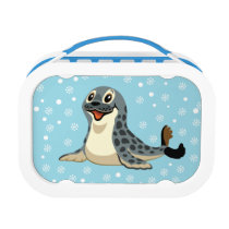 cartoon seal lunch box