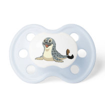 cartoon seal pacifier