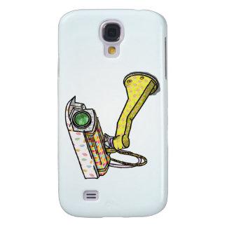 Cartoon Security Camera Galaxy S4 Case