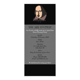 Cartoon Shakespeare Card
