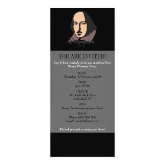 Cartoon Shakespeare Card