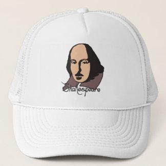 Cartoon Shakespeare Trucker Hat