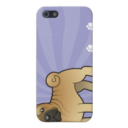 Cartoon Shar Pei iPhone SE/5/5s Case