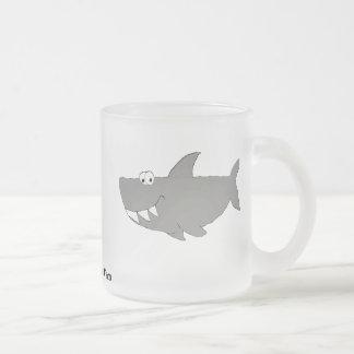Cartoon Shark Swimming Mug