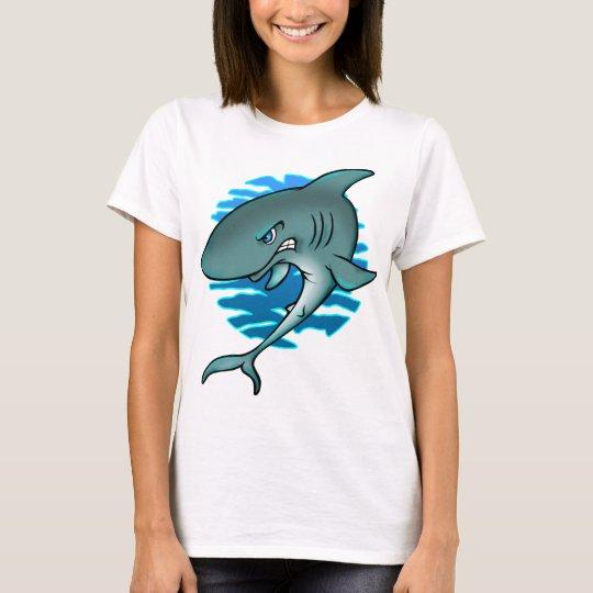 Cartoon Shark T-Shirt