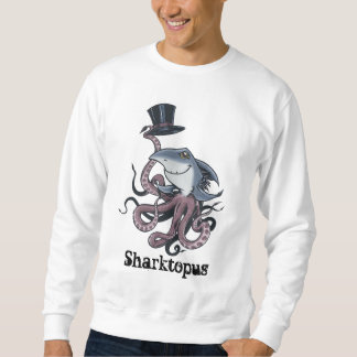 Cartoon Sharktopus Sweatshirt