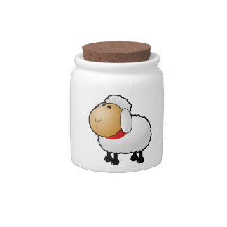 Cartoon Sheep Candy Dishes