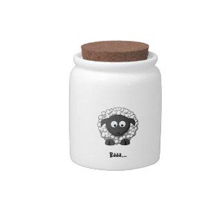 Cartoon Sheep Candy Jar