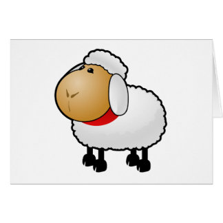 Cartoon Sheep Cards