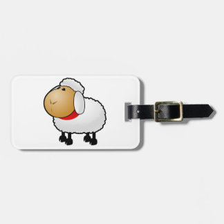 Cartoon Sheep Bag Tags
