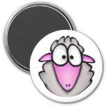Cartoon Sheep Magnet
