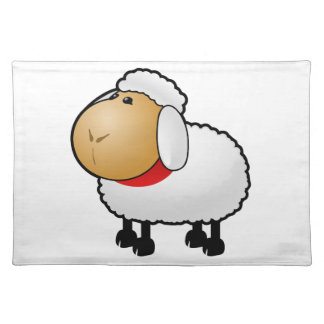 Cartoon Sheep Place Mat