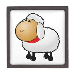 Cartoon Sheep Premium Jewelry Box