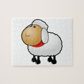 Cartoon Sheep Puzzle