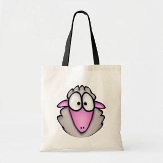 Cartoon Sheep Tote Bag