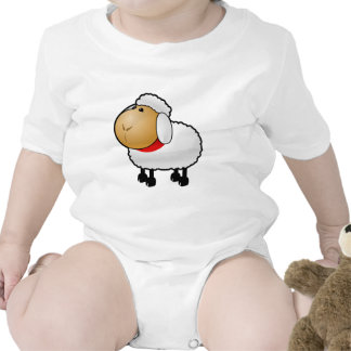 Cartoon Sheep Rompers