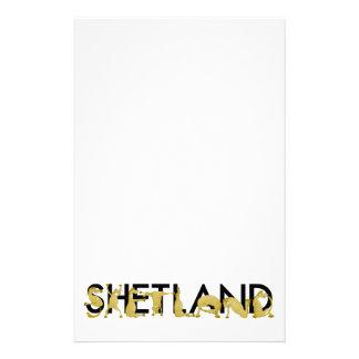 Cartoon Shetland pony Stationery