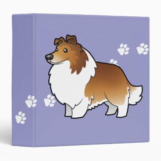 Cartoon Shetland Sheepdog / Collie Binder