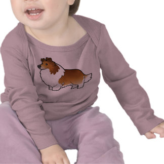 Cartoon Shetland Sheepdog / Collie Shirt
