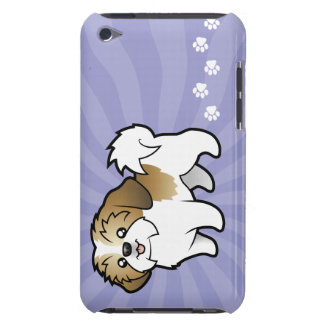Cartoon Shih Tzu (puppy cut) Barely There iPod Cover