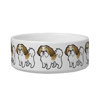 Cartoon Shih Tzu (puppy cut) Bowl