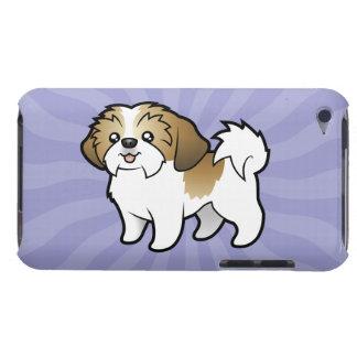 Cartoon Shih Tzu (puppy cut) iPod Case-Mate Case
