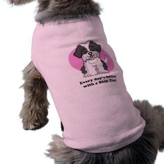 Cartoon ShihTzu Dog Shirt
