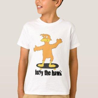 Cartoon Skate Boarding Tony Fan T-Shirt