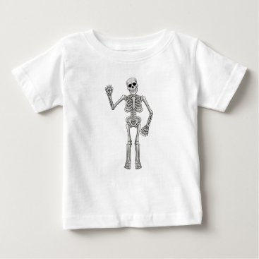 Cartoon Skeleton Baby T-Shirt