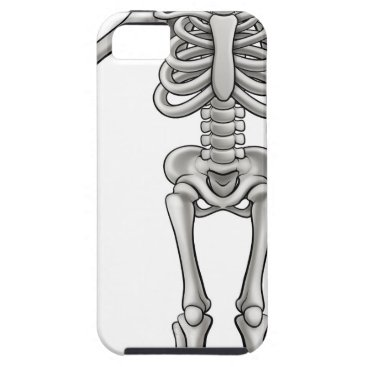 Halloween Themed Cartoon Skeleton iPhone SE/5/5s Case