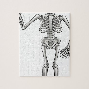 Cartoon Skeleton Jigsaw Puzzle