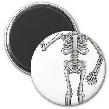 Cartoon Skeleton Magnet
