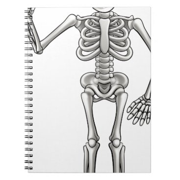 Cartoon Skeleton Notebook