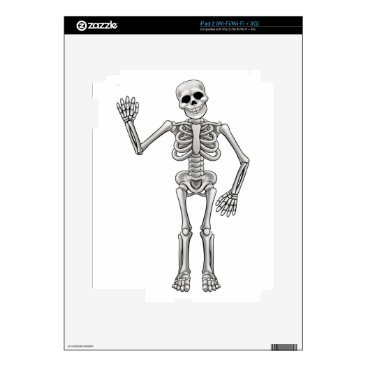 Halloween Themed Cartoon Skeleton Skins For The iPad 2