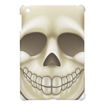 Halloween Themed Cartoon Skull Cover For The iPad Mini