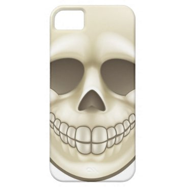 Halloween Themed Cartoon Skull iPhone SE/5/5s Case