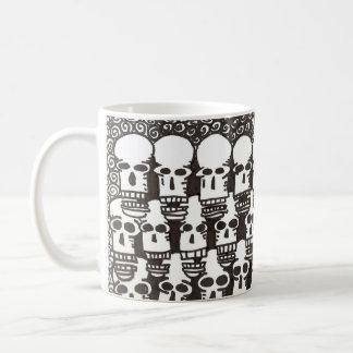 Cartoon Skull Mug