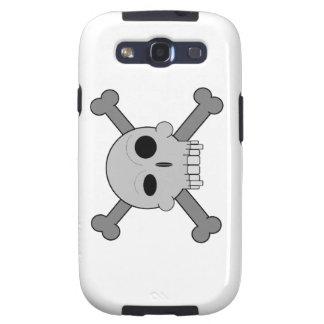 Cartoon Skull n Bones Samsung Galaxy SIII Case
